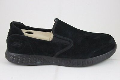 Skechers Men/'s On-The-Go Glide-LUSSO 53788 Black Memory Foam New In Box