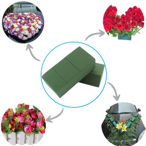 1//10pcs Green Wet Ideal Floral Florist Green Foam Max Life Brick Fresh Flowers
