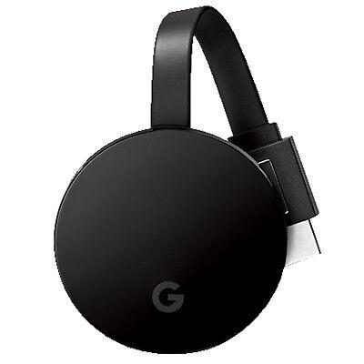 GOOGLE Chromecast Ultra Streaming Player, Schwarz
