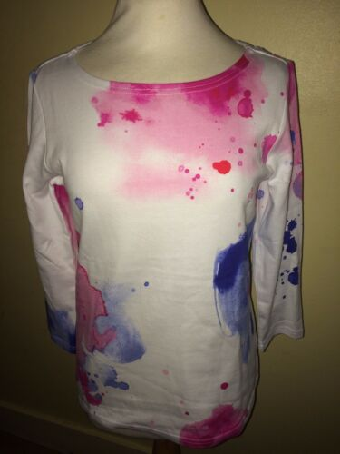 JOULES Harbour Stile Top Astratto Design SZ 8 10 12 16 RRP £ 29.95 freeukp /& P