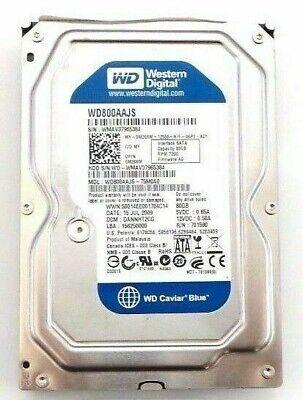 Dell 80GB SATA 3.5 7200RPM Hard Drive-UU158
