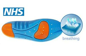 Diabetic-Medical-arch-support-extra-thick-insoles-running-working-boots-shoes