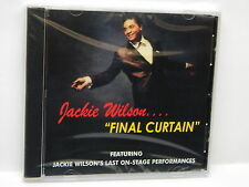 Jackie Wilson: Final Curtain [Live] ~ NEW CD (Mar-2001, Concert Products (USA))