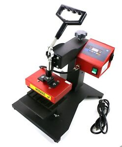 6Pcs Digital LoGo Pen Heat Press Machine For Ball-point Transfer Printing 110V