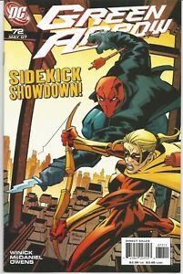 Green Arrow #72 : DC Comics : May 2007