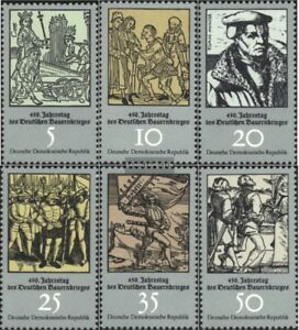DDR-2013-2018-kompl-Ausgabe-postfrisch-1975-Bauernkrieg