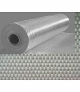 12,5 m2 de fibre de verre ROVING 300g.