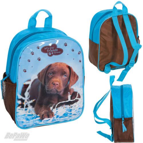 RACHAEL HALE Hund blau Kindergartenrucksack Schulrucksack Tasche Rucksack