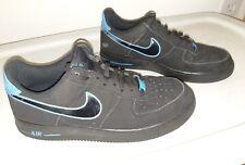 6ed42b5d8f1 item 6 Nike Air Force 1 Black Photo Blue Low Rare SZ 9.5 (488298-057) -Nike  Air Force 1 Black Photo Blue Low Rare SZ 9.5 (488298-057)