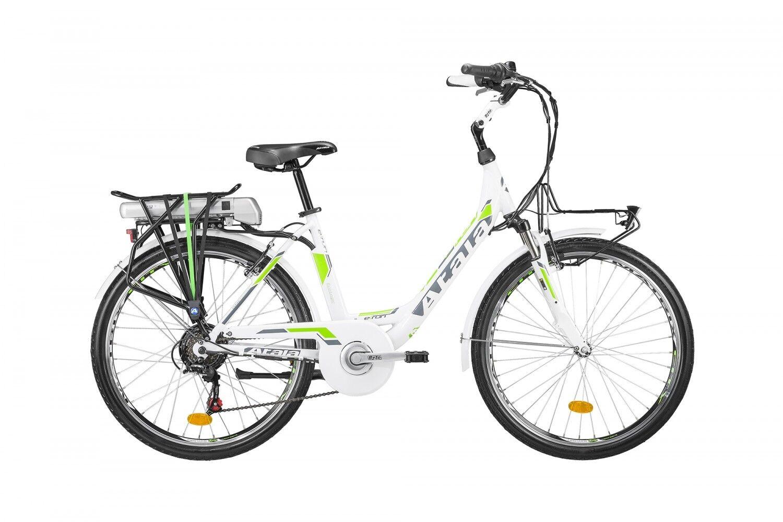 ELECTRIC BIKE WOMEN'S ATALA E-RUN FS LADY 2018 ECOLOGIC 317WH pedaling assi