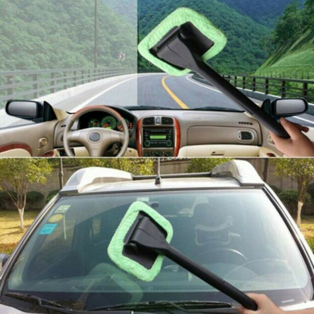 Glass Tool Easy Clean Window Cleaner Wash Wiper Cleaning Brush Car Windshield