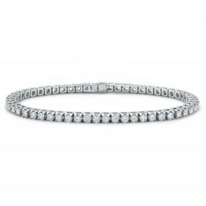 Adjustable-Tennis-Bracelet-with-Swarovski-Elements-White-Gold-Plated-Plated