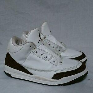 23e9450392c8 Nike Air Jordan 3 iii Mocha OG 2001 Cement White Fire Red 89 True ...