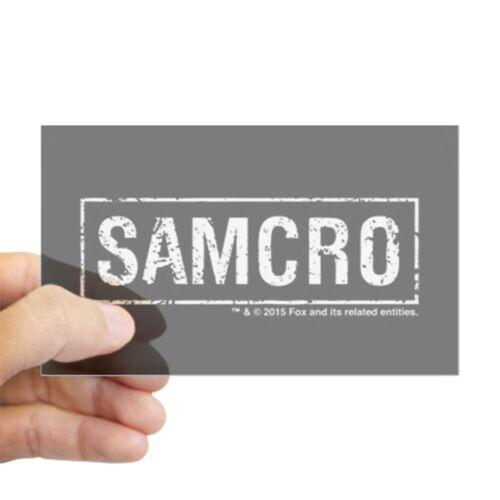 CafePress SAMCRO Rectangle Bumper Sticker Car Decal 1941555118