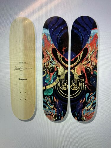 Star Control Diptych Skateboard Deck Sold Out Numbered Edition of 50 w COA