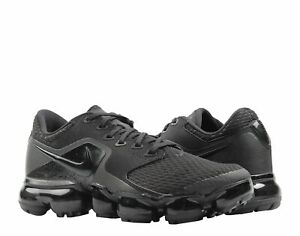 867f399ac76 Nike Air Vapormax (GS) Triple Black Dark Grey Big Kids Running Shoes ...