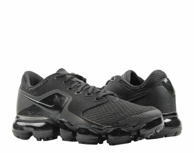e6def9eb3fa33 Nike Air Vapormax (GS) Triple Black Dark Grey Big Kids Running Shoes 917963