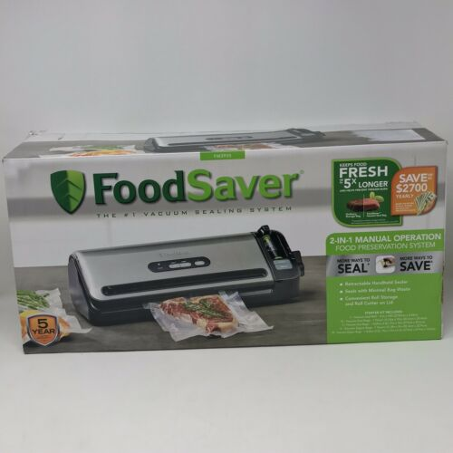 Food Saver 2-in-1 Food Preservation Vacuum Sealing System FM3900 For Parts