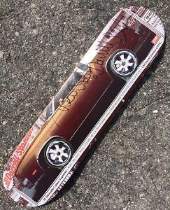 RARE-Darrell-Stanton-Signed-Real-Skateboard-Deck-79-Cutlass-Spinning-Wheels-OG