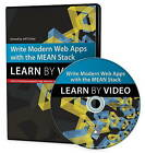 Write Modern Web Apps with the Mean Stack: Mongo, Express, AngularJS, and Node.Js: Learn by Video by Jeff Dickey (DVD, 2014)