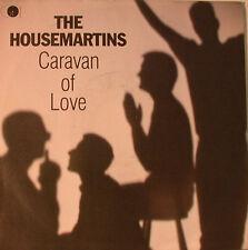 "THE HOUSEMARTINS - CARAVAN OF LOVE - WHEN I FIRST MET JESUS 7""  SINGLE (F1314)"