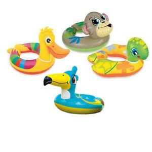 INTEX-Kinder-Schwimmring-Schwimmreifen-mit-Tierkopf-Wasserspielring