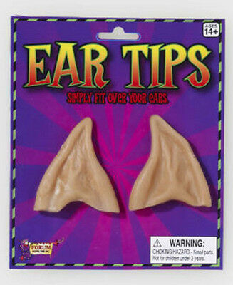 NEW LATEX ADULT ALIEN ELF FAIRY HOBBIT SPOCK EAR TIPS LARP COSPLAY WARCRAFT