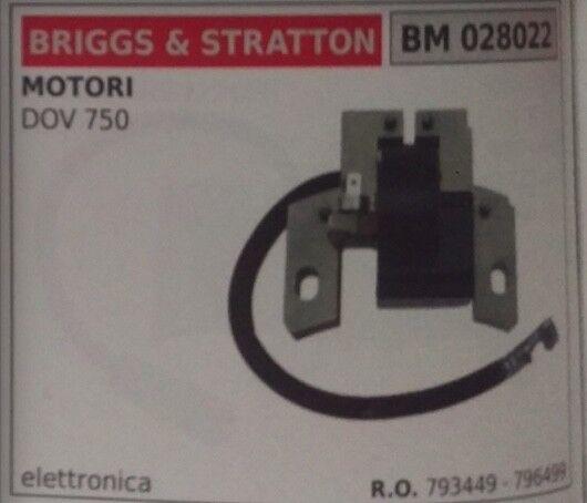 793449 796499 BOBINA ELETTRONICA MOTORE BRIGGS & STRATTON DOV 750