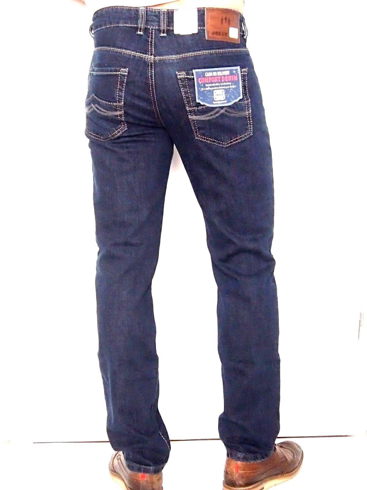 Joker Jeans Freddy Stretch 2442 0201 Rinsed bluee sz. by 31 32 Bis 38 34