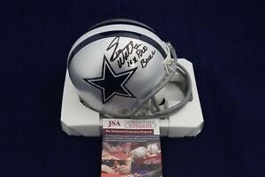 Everson-Walls-Signed-Auto-Dallas-Cowboys-Mini-Helmet-W-4x-Pro-Bowl-JSA-WPP