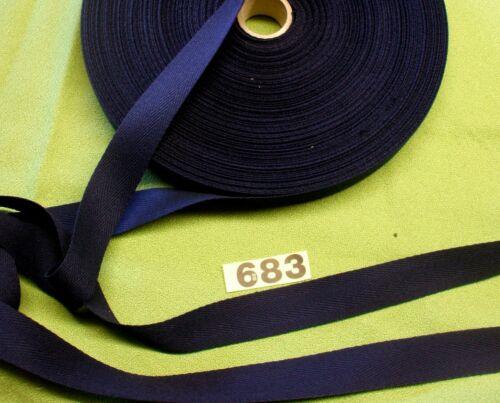 Delantal Algodón Herringbone CINTA 683 cinta 3m X 25mm Azul Marino