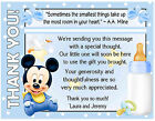 20 BABY MICKEY MOUSE BABY SHOWER THANK YOU CARDS with envelopes