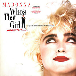Madonna-LP-Who-039-s-That-Girl-Original-Motion-Picture-Soundtrack-Europe-VG-E