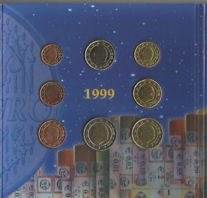MONETE BELGIO BELGIQUE 1999 /2001 UNC/BU  SCEGLI QUELLE CHE TI SERVONO