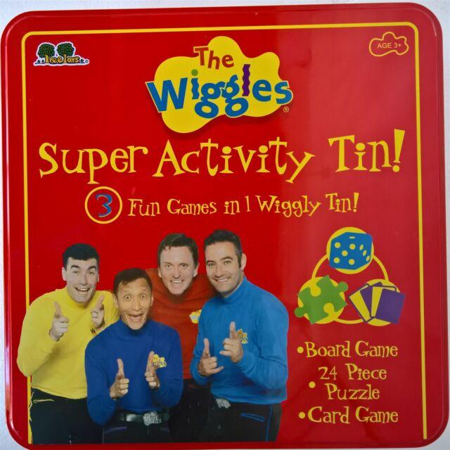 wiggles super activity tin 3 fun games ebay