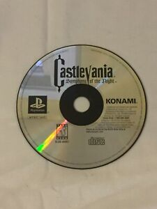 Castlevania-Symphony-Of-The-Night-PlayStation-PS1-Disc-Only