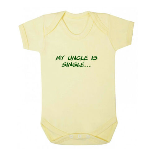 My Uncle Is Single Baby Bodysuit One Piece