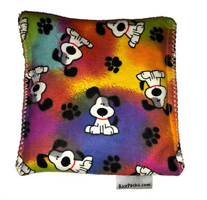 Rainbow Dogs Pack Hot Cold You Pick A Scent Microwave Heating Pad Reusable