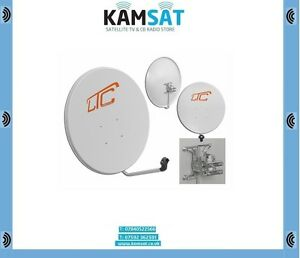 Satellite-Antenna-Dish-80cm-800mm-White-Galvanized-steel-Aluminum-Astra-Hotbird