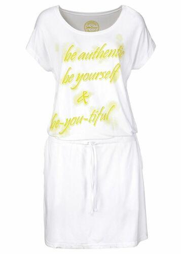 903725 in Blanc 32//34 Nouveau Robe Shirt avec poches italiennes