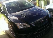 Jaguar XKR style ABS plastic bonnet vents Gloss black finish