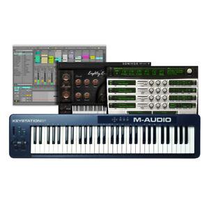 Details about M-Audio Keystation 61 MK2 61-Key USB MIDI Keyboard Controller  + AIR Xpand!2