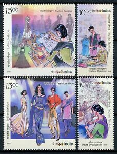 India-Stamps-2019-MNH-Indian-Fashion-Pt-III-Cultures-Traditions-4v-Set