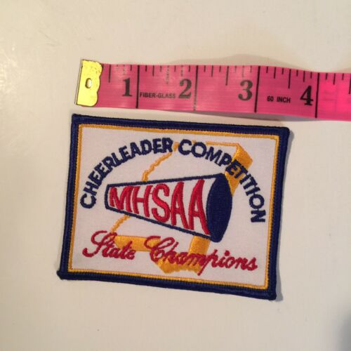 CHEERLEADER COMPETITION MHSAA STATE CHAMPIONS PATCH