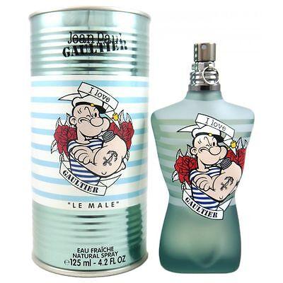 Jean Paul Gaultier Le Male Popeye Eau Fraiche 125 ml Eau de Toilette EDT Limited