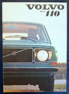 VOLVO-140-SERIES-CAR-SALES-BROCHURE-FRENCH-TEXT-AUGUST-1970