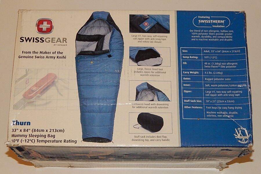 SwissGear Thurn 10-degree Mummy Bag New in Box