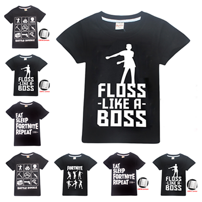 Kids' Clothes, Shoes & Accs. 100% Cotton Fashion Kids Battle Royale Boys Girls T Shirt Tops Gamer Tee Gift
