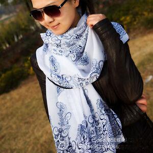 New-Fashion-Women-Ladies-Pretty-Long-Soft-Chiffon-Scarf-Wrap-Shawl-Stole-Scarves