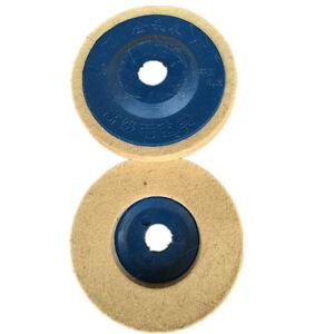 3-stuecke-100mm-4-Zoll-Blau-Wolle-Polieren-Winkelschleifer-Rad-Filz-Polierscheibe